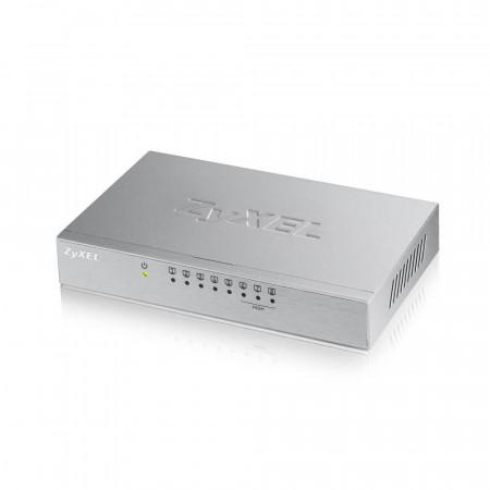 ES108AV3 - Switch Non-Administrable 8 ports 100 Mbps RJ45 (3 ports QoS) - alimentation externe - boîtier métal