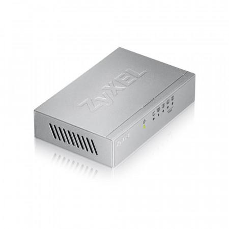 ES105AV3 - Switch Non-Administrable 5 ports 100 Mbps RJ45 (2 ports QoS) - alimentation externe - boîtier métal
