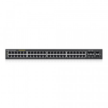 GS22104-8HP - Switch Administrable L2 44 ports Gbps RJ45  PoE+ - 4 ports Gbps combo (RJ45/SFP) - 2 ports Gbps SFP - rackable