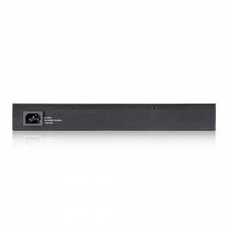GS2210-8HP - Switch Administrable L2 8 ports Gbps RJ45 PoE+ - 2 ports Gbps combo (RJ45/SFP) - budget PoE 180 W - rackable